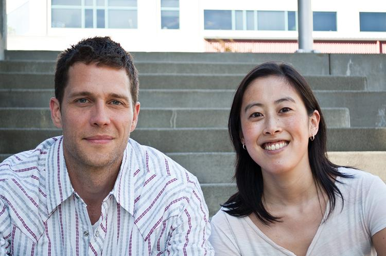 Everpath co-founders Doug Gradt, left, and Sandi Lin announced they have raised $950,000 in funding less than a month after graduating from the TechStars accelerator program.