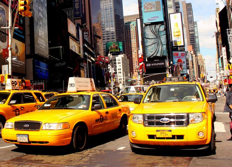 New York City taxis may soon be able to pick up passengers via smartphone e-hail, but only if the program can clear legal hurdles.