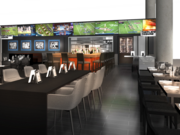 A rendering of The Players' Tribune Bar & Grill
