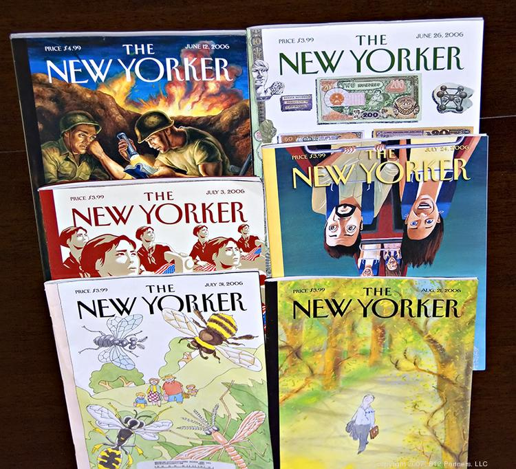 The New Yorker magazine is one of two Conde Nast publications accused of unfairly exploiting interns' labor.