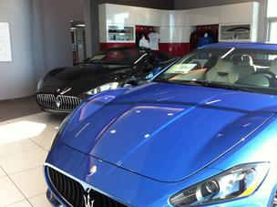 The first two vehicles in the Maserati of Jacksonville will be housed at the Fiat of Orange Park dealership until the adjoining showroom is completed later this year.