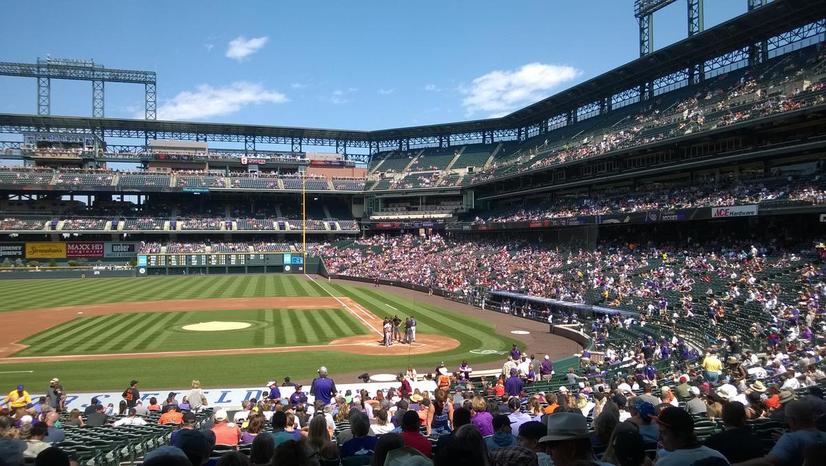 How did the Colorado Rockies do in the baseball attendance