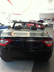 The back side of the GranTurismo Convertible.