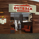Outback Steakhouse president says having a hometown airport unit 'means a lot to us'