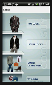 Cool Guy - Style App for Men Device: Android and iPhone Cost: Free Rating: 4 stars Even the most stylish of dads don't mind a little help. Cool Guy plans out your wardrobe based on the duds you have. It also helps you shop online by matching items to what you currently own. Get it here.