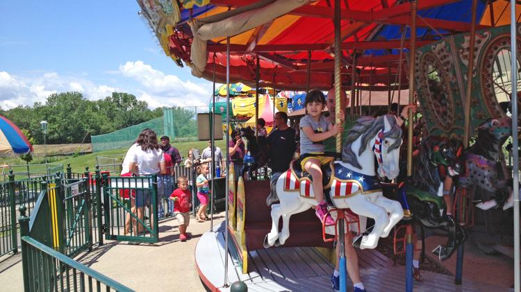 Hoffman's amusement park in Latham, NY opened this weekend for its 62nd season.