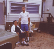That's my Dad, Don Stevens, in Lavalette, N.J., circa 1968, with my great grandmother, Theresa Kubula. The best advice my Dad ever gave me was to not be afraid to jump. That advice gave me the courage to make some pretty major changes in my life — from quitting jobs to ending relationships to moving across the country (three times).  My Dad lived his life that way, and before he passed away, he told me that he had few regrets looking back.  Making big changes in life is always scary and, for me at least, it's never been pain free. But looking back, my life has been much richer because I jumped. - Suzanne Stevens, Web editor