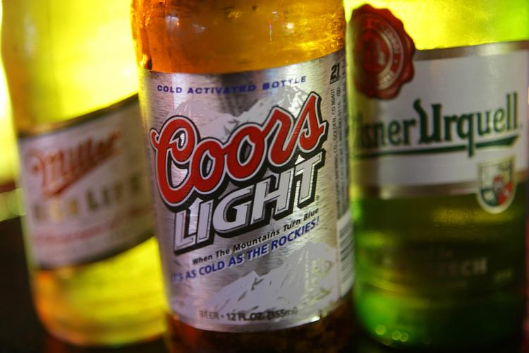 MillerCoors products, including Coors Light