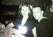 """That's my Mom, Velma, and my Dad, Darrell, in the mid-1940s. My late father was a man of few words, but those he spoke were often full of wisdom.  Here's a perfect example: We were at a Kentucky Fried Chicken waiting in a long line when the clerk asked him what we wanted. He deferred, saying another party was ahead of us. I was getting hungry and impatient. When we finally ordered, the clerk gave him extra change. My Dad gave it back.  """"Why'd you do that?"""" I asked. """"One of the few things we really have in life is our word,"""" he said. """"It's always better to be honest."""" I've never forgotten that. I try to model that behavior at all times.  - Rob Smith, editor"""