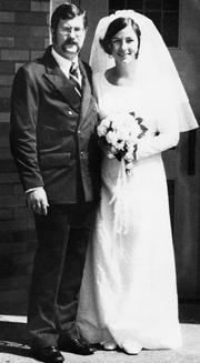That's my Dad, Don Haines, and my Mom, Jinny, in their 1973 wedding photo.  The best advice my Dad ever gave me is to always take a book with you wherever you go. This may seem like a small thing but I am never bored; I am never frustrated waiting for someone else that is late. A five-or-10 minute escape into another world or time spent learning something new helps me keep a better attitude than if I was impatiently waiting for a friend to arrive or a doctor's appointment to begin. Time spent reading is never wasted. Kelly Haines, business manager