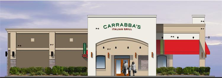 The Woodlands Carrabba's location rendering. All of Carrabba's renovations will be completed by late September.