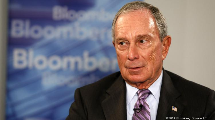 Michael Bloomberg, former New York mayor and founder of Bloomberg LP, is a key backer of the Risky Business Project, which supports efforts to mitigate climate change.