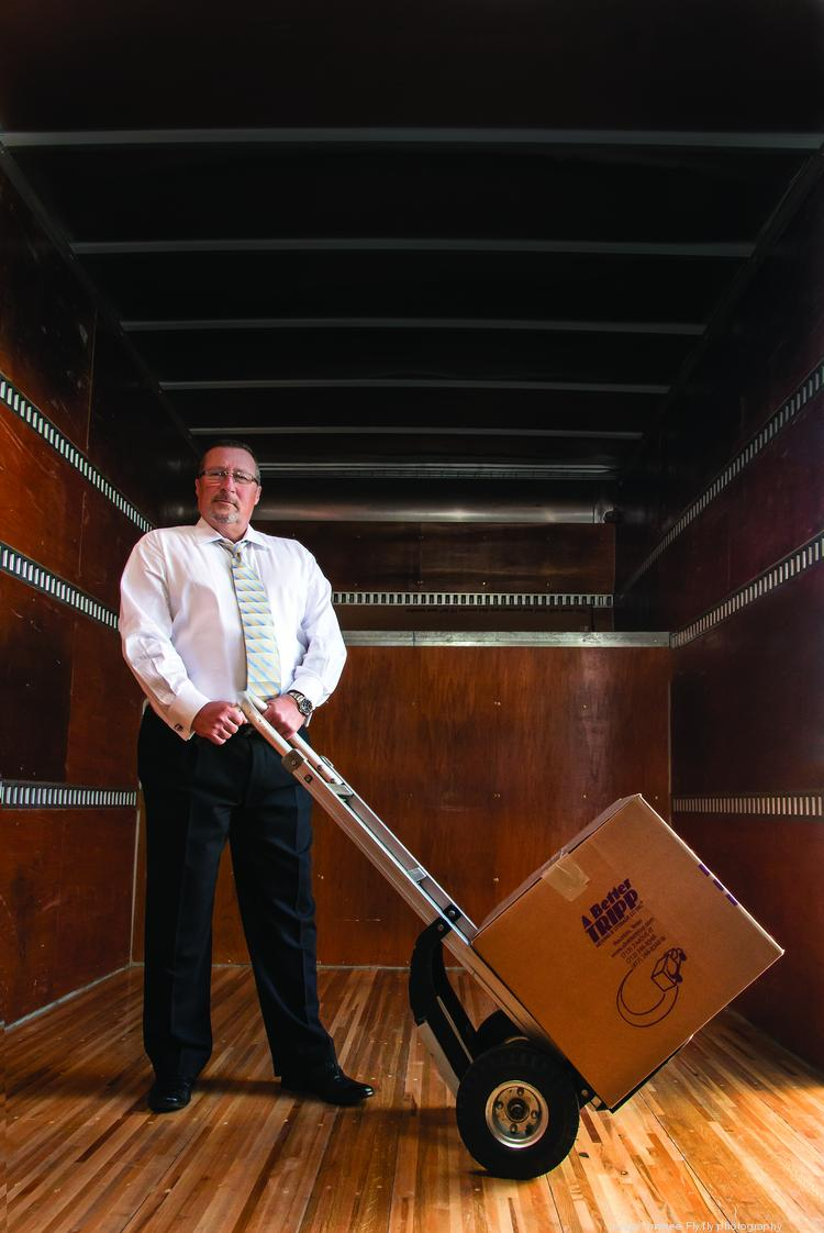 David Tripp, owner of A Better Tripp Moving & Storage Company Inc.