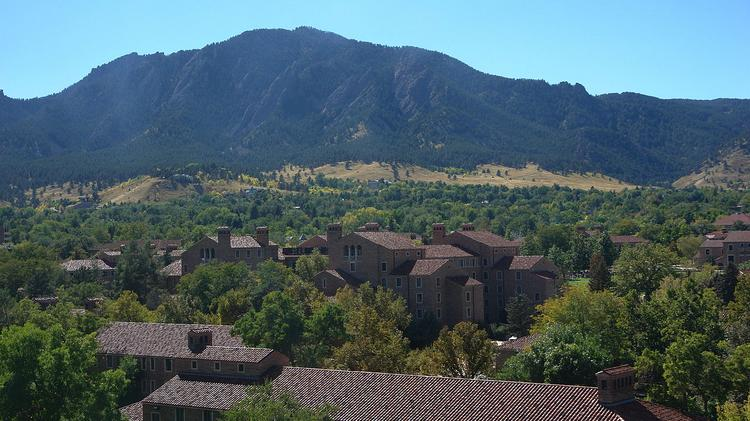 The University of Colorado-Boulder ranked 11th nationally for Twitter use, according to a new report.