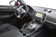 The interior also is to die for, especially the soft, suedelike steering wheel. Oh wait, that's among the extras that took the as-tested price of this GTS to $123,265. Soft leather is the standard material.