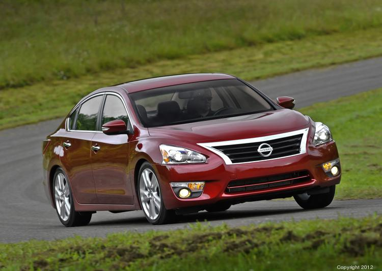 Sales of Nissan's Altima sedan, made in Smyrna, surged 41 percent in May, helped by a $580 price cut.