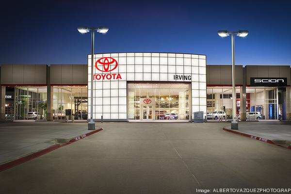 Toyota of Irving Exterior