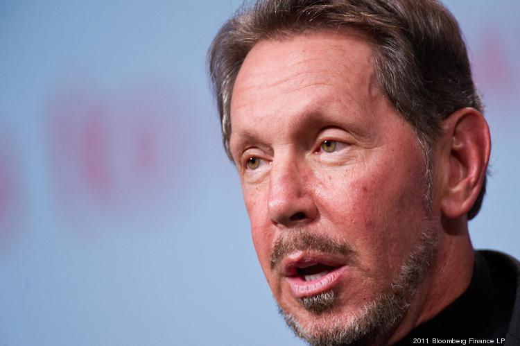 Larry Ellison, chief executive officer, Oracle.