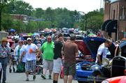 The heat started to rise during the Wake Forest Classic & Antique Charity Car Show, but that didn't keep the people from coming to view the vehicles.