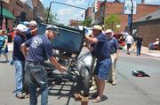 The Triangle chapter of the Antique Automobile Club of America takes apart an old Model T, piece by piece.