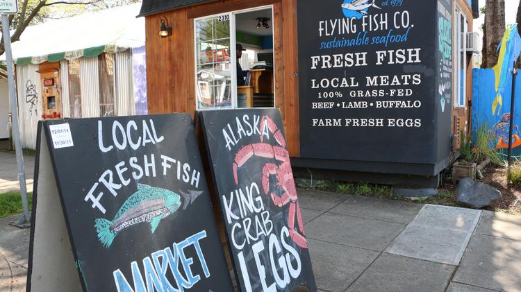 inside flying fish, the tiny fishmonger with big dreams (photos, Fly Fishing Bait