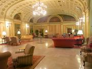 The Grand Historic Venue is attached to the Embassy Suites, formerly the Tremont Suites Hotel.