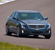 Cadillac ATS:  New for the 2013 model year, the compact ATS sedan shakes off any hint of a Cadillac's dusty, musty, old-fogey image. From its interesting angular lines to its luxury appointments and sharp handling, the new Caddy challenges even the BMW 3 Series.