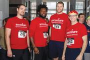 The Fight for Air Climb team in February.