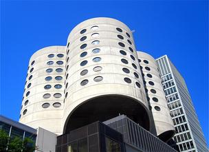 The Prentice Women's Hospital was designed by Bertrand Goldberg, and is considered an example of brutalist design.