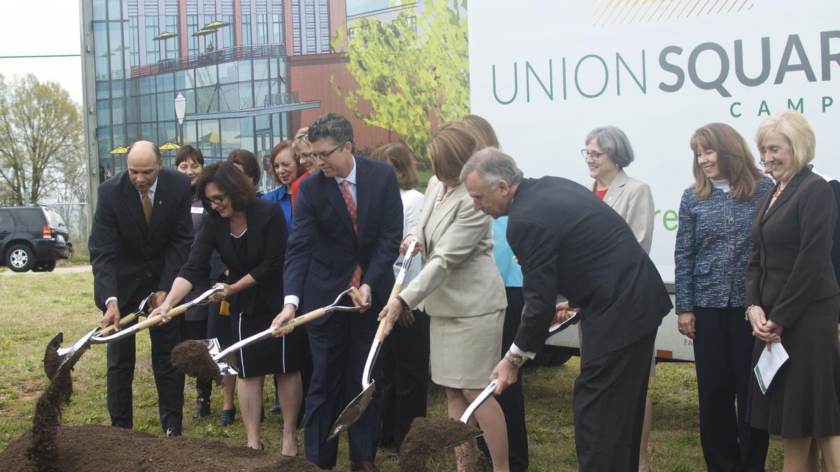 The restaurant at union fare a sprawling complex in union square in - Union Square Campus Groundbreaking Kicks Off Construction In Downtown Greensboro Greensboro Triad Business Journal