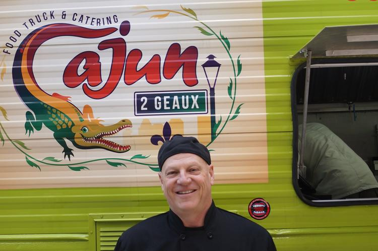 Cajun 2 Geaux Owner and chef Tim Glover