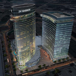 Turnberry pumps brakes on office tower next to planned Marriott hotel