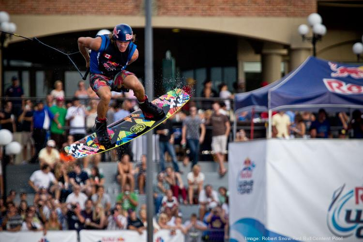 Last year's Red Bull event drew large crowds to downtown Tampa to see wakeboarders compete in front of the Tampa Convention Center.