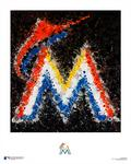 Artist creates abstract interpretations of MLB logos