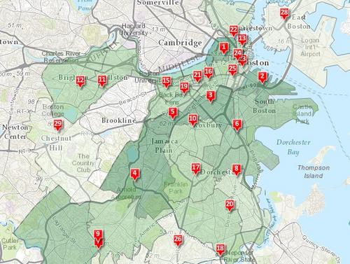 MAP: Boston property tax assessment increases by ZIP code (BBJ