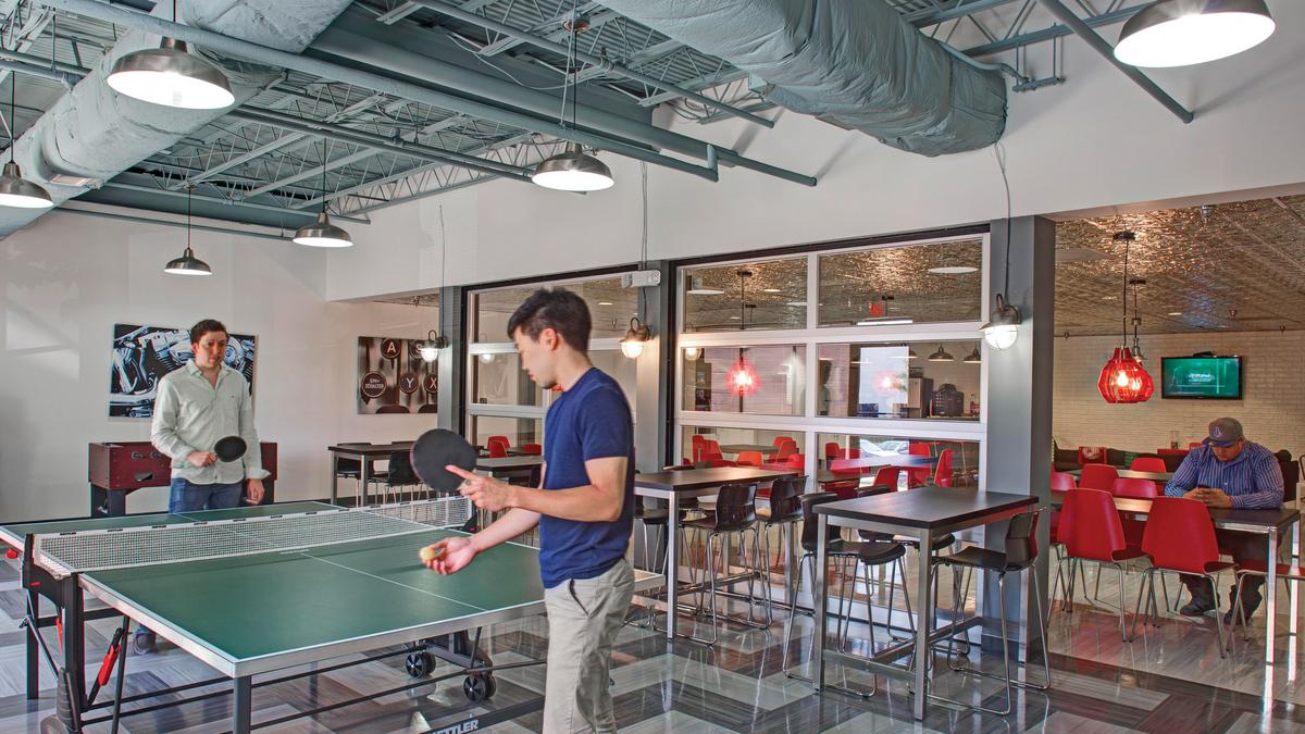 Interior office design in the millennial age baltimore for Office design for millennials