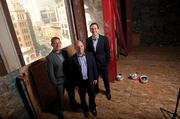 Room for improvement: Left to right, Jamin Seid, Bob Basso and Jay Atkinson of Cannae Partners at 1019 Market St.