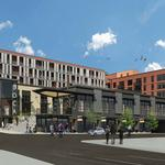 The old home of the Belmont goats will soon be a grocery store-anchored development