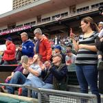 Bisons hit home run at the gate
