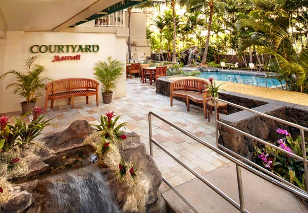 Bethesda-based RLJ Lodging Trust 's new Courtyard by Marriott Waikiki Beach.