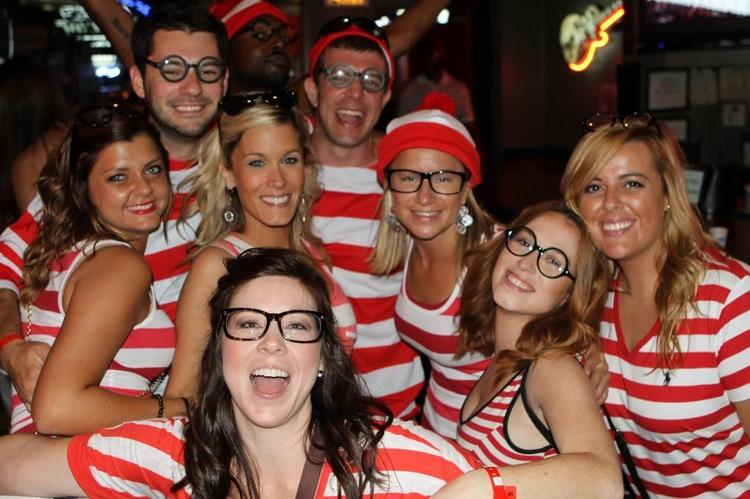 Where's Waldo Guinness Book of World Records attempt.