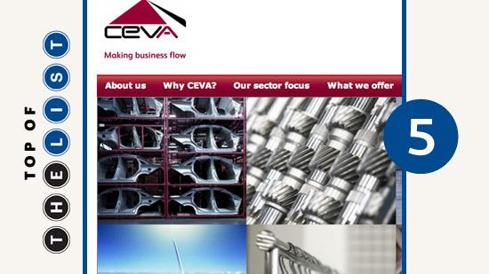 CEVA Logistics U.S. Inc. Central Ohio employees: 219 Warehouse space: 480,000 square feet Industries served: Automotive, consumer-retail, technology, industrial energy