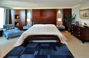 Master bedroom in Unit 3501 at Las Olas Grand, Fort Lauderdale
