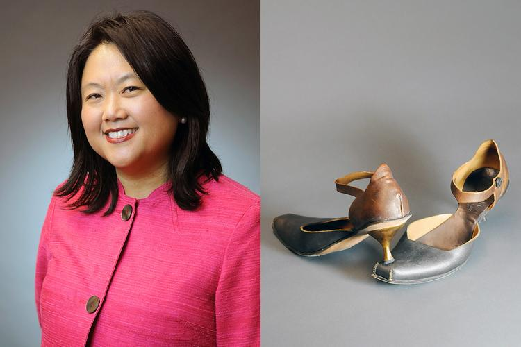 "Meea Kang's shoes are handmade, compete with a steel shank. ""I have a steely tenacity to do what I do,"" Kang says."