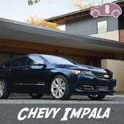 The Chevy Impala ranked eighth on the list.