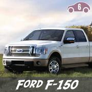 The Ford F-150 ranked sixth on the list.