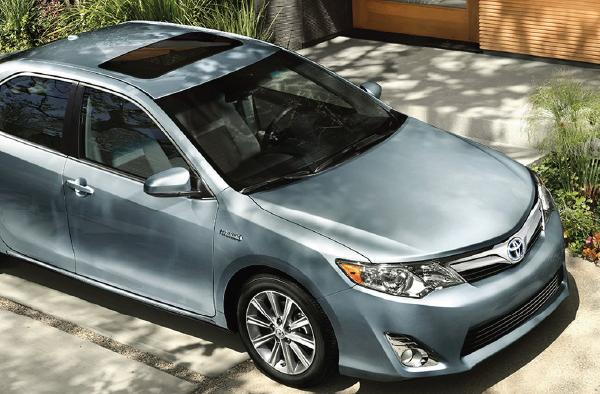 The Toyota Camry is made in Georgetown, Ky.