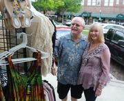 Lynn and Brenda McClung, owners of Beckett's Emporium, have strong family and business ties to the area. Lynn's family has owned a business on Plant Street for the past 62 years.