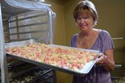 After 24 years working in a local pediatrist office, Belinda Wilson wanted to start a unique business in a quaint location. She opened Ms. Bee's Gourmet Popcorn & Candy Shoppe on Plant Street two years ago.