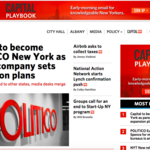 Capital New York will rebrand as Politico New York